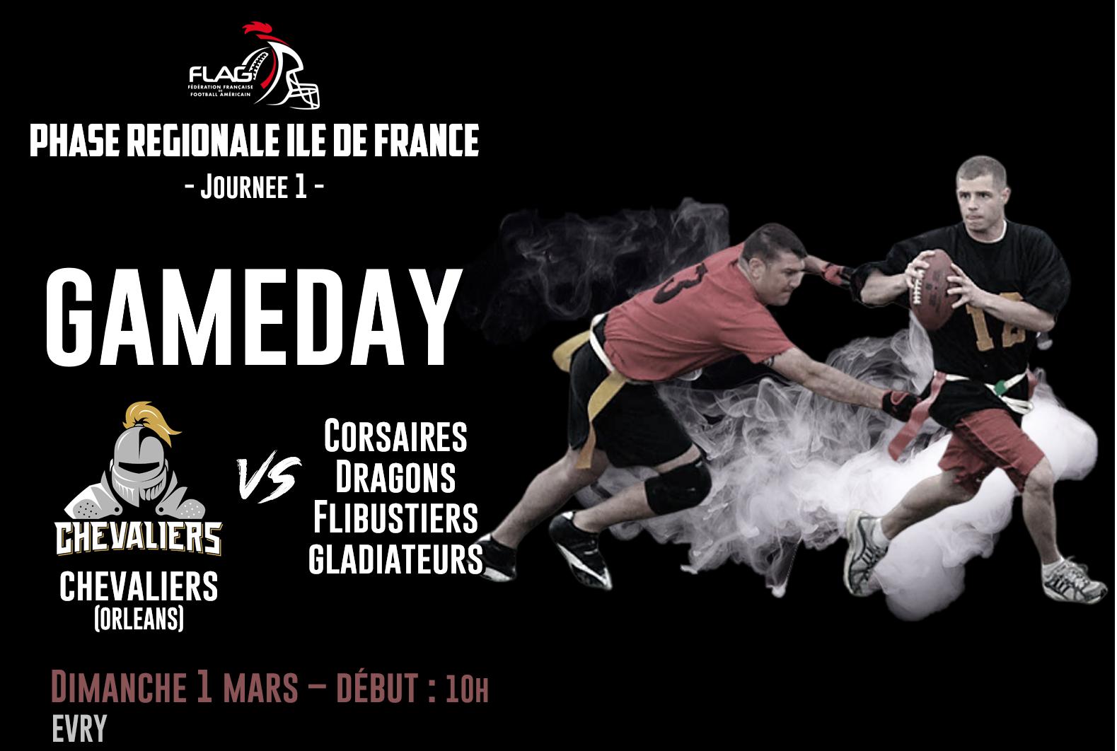 J2 : Championnat de France de D2 Flag